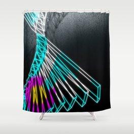 Rabbit Hole (Colorado) Shower Curtain