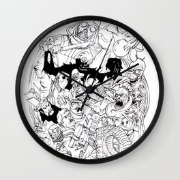scum and villainy Wall Clock