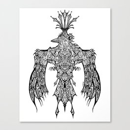 Crowned Messenger Canvas Print