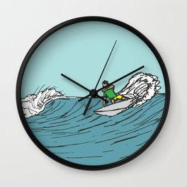 Surf Series | Roundhouse Wall Clock