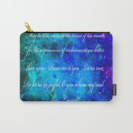 LOVE:  THE SONG OF SOLOMON Carry-All Pouch