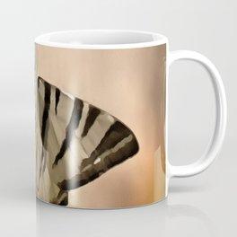 Scarce Swallowtail Feeding Coffee Mug