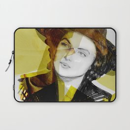 Ingrid Bergman Gold Laptop Sleeve