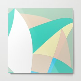 Pattern 2017 027 Metal Print