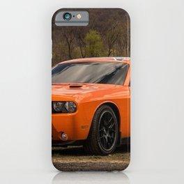 Hugger Orange Challenger RT Dukes of Hazard iPhone Case