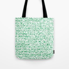 green abstract striped background Tote Bag