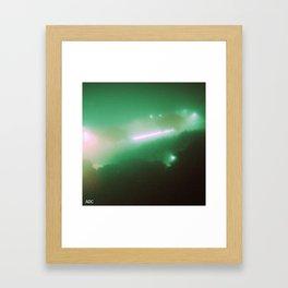 Green #01 Framed Art Print