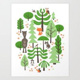 Wildwood Art Print