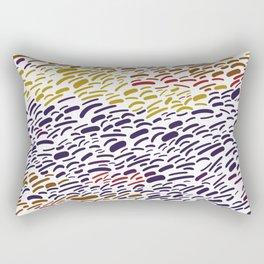Italian Evening - Abstract Rectangular Pillow