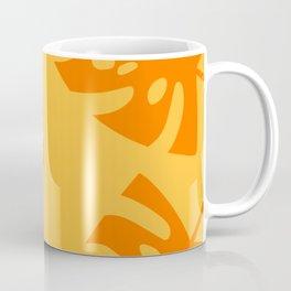Palm Leaf orange 2 Coffee Mug