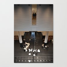 Art For Two II Canvas Print