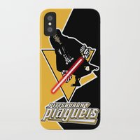 pittsburgh iPhone & iPod Cases featuring Pittsburgh Plagueis by Ant Atomic