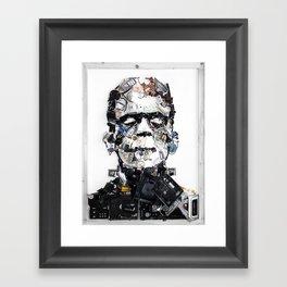 Let Me Be Frank Framed Art Print