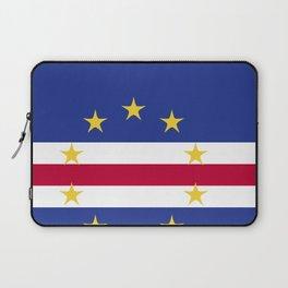 Cape Verde flag emblem Laptop Sleeve
