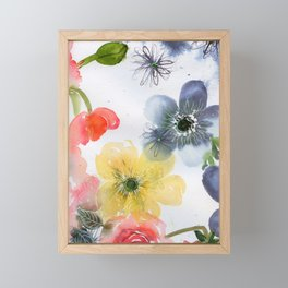 fairy lake N.o 4 Framed Mini Art Print