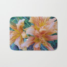 Tiger Lilly's in Spring II Bath Mat