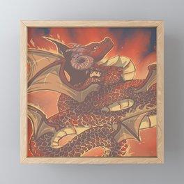 Fire Elemental Framed Mini Art Print