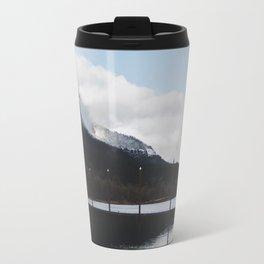 Snow-capped Reflections Travel Mug