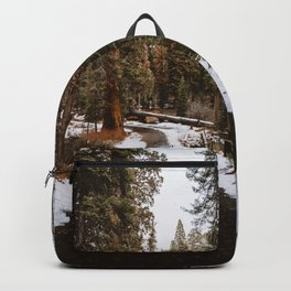 Tunnel Log Road in Sequoia II Backpack