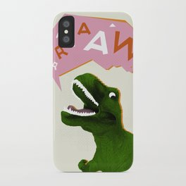 Dinosaur Raw! iPhone Case
