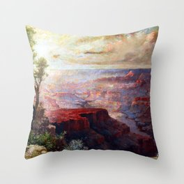 Elliott Daingerfield The Grand Canyon Throw Pillow