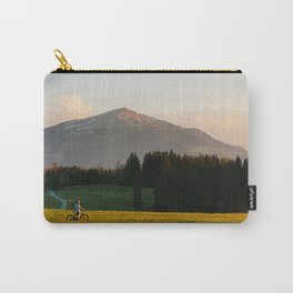 Sunset Bikeride Carry-All Pouch