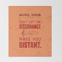 Spooky Scary Dissonance! — Music Snob Tip #439.5 Throw Blanket