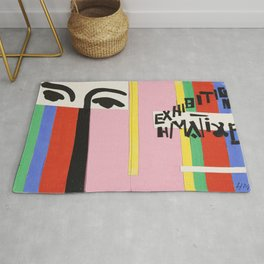 Cover design for exhibition catalogue by Henri Matisse Rug