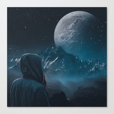 The seeker Canvas Print