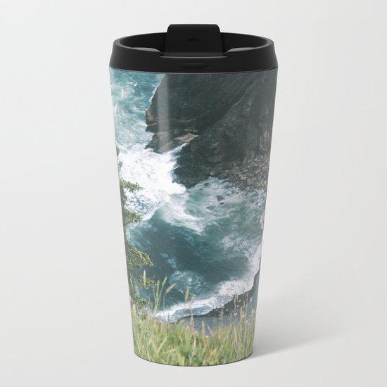Oregon Coast XII Metal Travel Mug