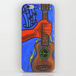 Ukes For Peace iPhone Skin