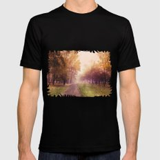(It's) just a way home... MEDIUM Black Mens Fitted Tee