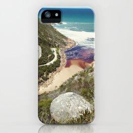 Goukamma river mouth iPhone Case