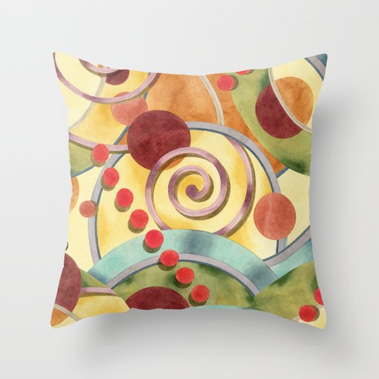 Europa Design Throw Pillow