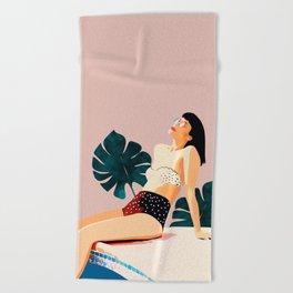 Sunday Beach Towel