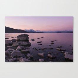 Lake Tekapo Sunset Canvas Print