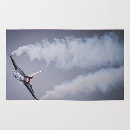Fighter jet Rug