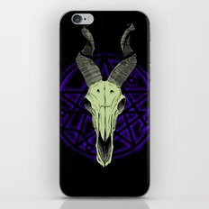Black Goat of the Woods iPhone & iPod Skin