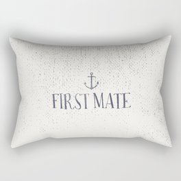 First Mate Rectangular Pillow