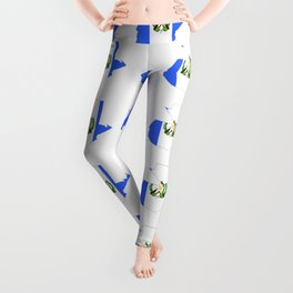 Flag of Guatemala 4-Guatemalan,Mixco,Villa Nueva,Petapa,tropical,central america,spanish,latine Leggings