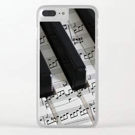 Moonlight Sonata Clear iPhone Case