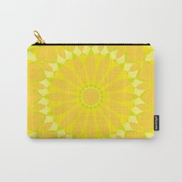 Psychedelic Mandala Kaleidoscope Seamless Pattern Carry-All Pouch