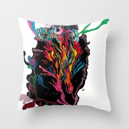 """""""Its so far out, the way out is in"""" Throw Pillow"""