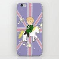 hetalia iPhone & iPod Skins featuring FaeriEngland by gohe1090