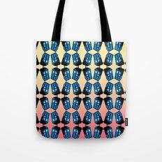 Doctor Who: TARDIS Pattern Tote Bag