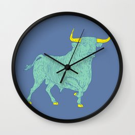 Un Macho bien puesto Wall Clock