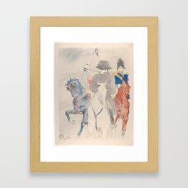 Henri de Toulouse-Lautrec Napoleon Framed Art Print