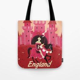 England St. George vintage travel poster Tote Bag