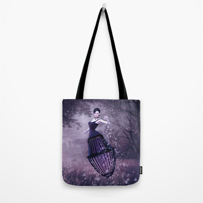 Black magic fairy Tote Bag