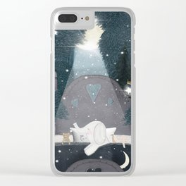 dreaming of stars Clear iPhone Case